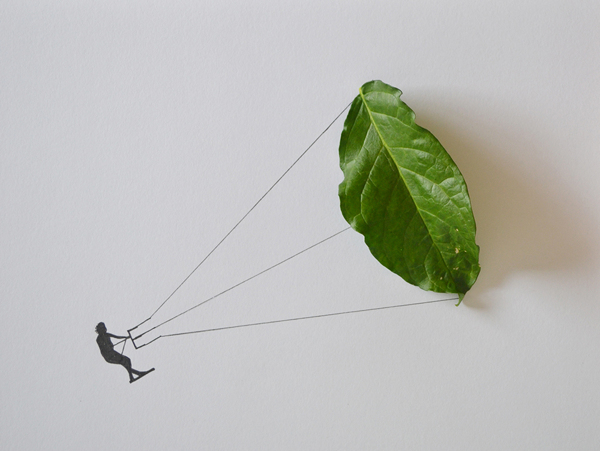Leaf art Tang Chiew Ling.