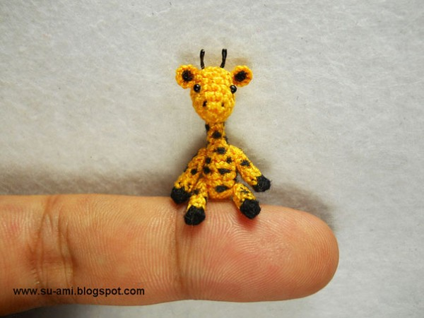 Miniature Crocheted Animals by Su Ami 11