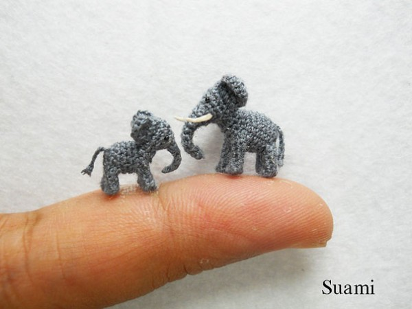 Miniature Crocheted Animals by Su Ami 12