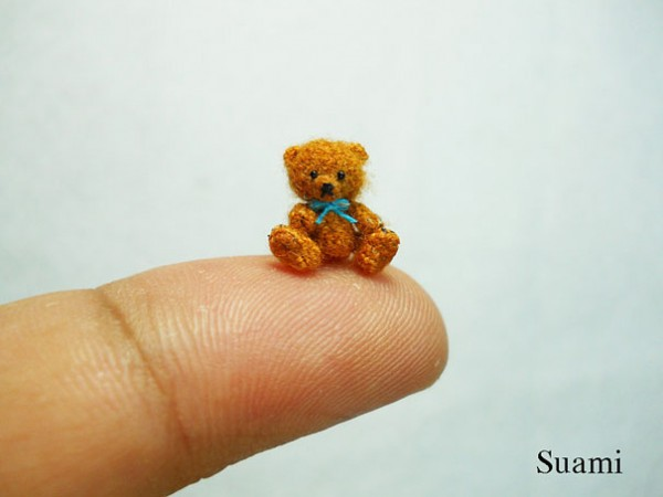 Miniature Crocheted Animals by Su Ami 17