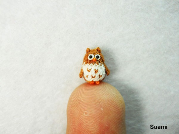 Miniature Crocheted Animals by Su Ami 3