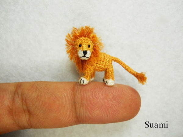 Miniature Crocheted Animals by Su Ami 7