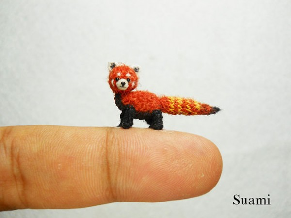 Miniature Crocheted Animals by Su Ami