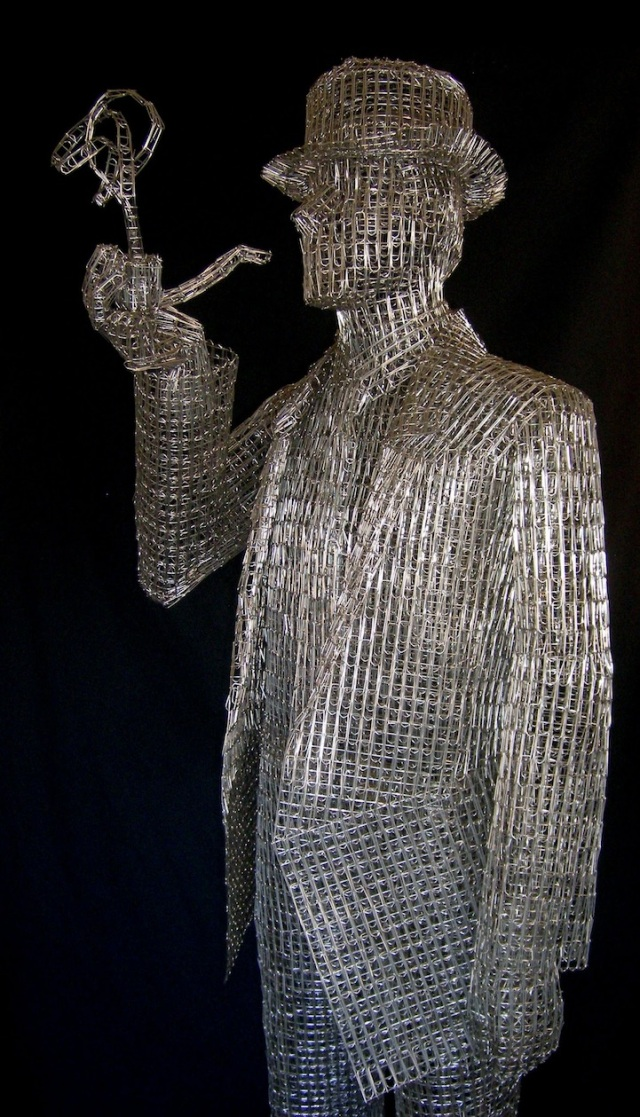Paperclips Sculptures pietro dangelo 2