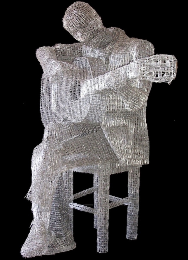 Paperclips Sculptures pietro dangelo 4