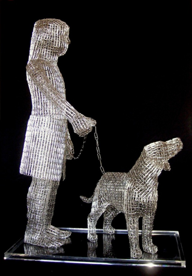 Paperclips Sculptures pietro dangelo 6