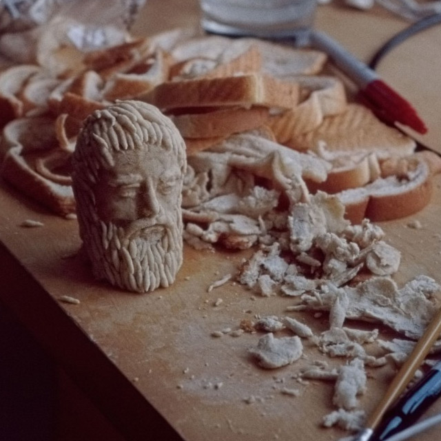 Tiny bread Sculptures Milena Korolczuk 7