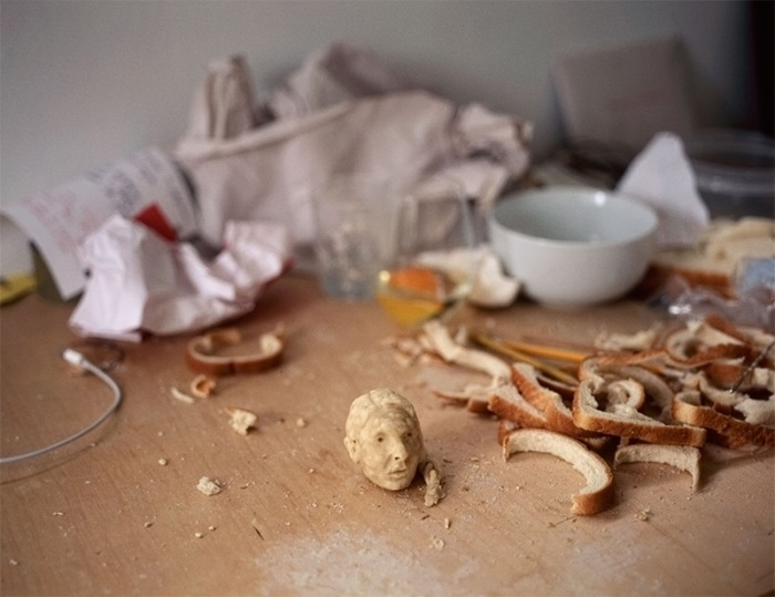 Tiny bread Sculptures Milena Korolczuk 8