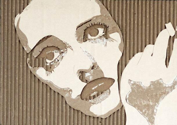 CARDBOARD PORTRAITS GILES OLDERSHAW 7
