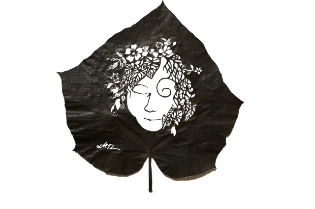 Lorenzo Manuel Durán leaf cutting art 7