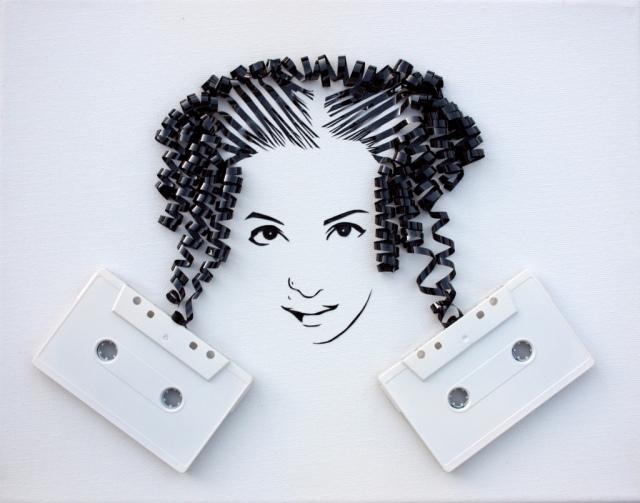 Cassette Tape Art Erika Iris Simmons 12
