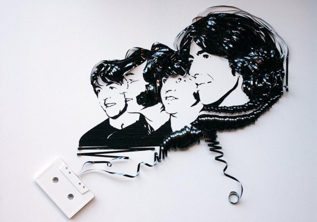 Cassette Tape Art Erika Iris Simmons 7