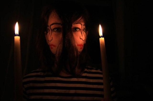 double-faced girl illusion sebastian bieniek 15