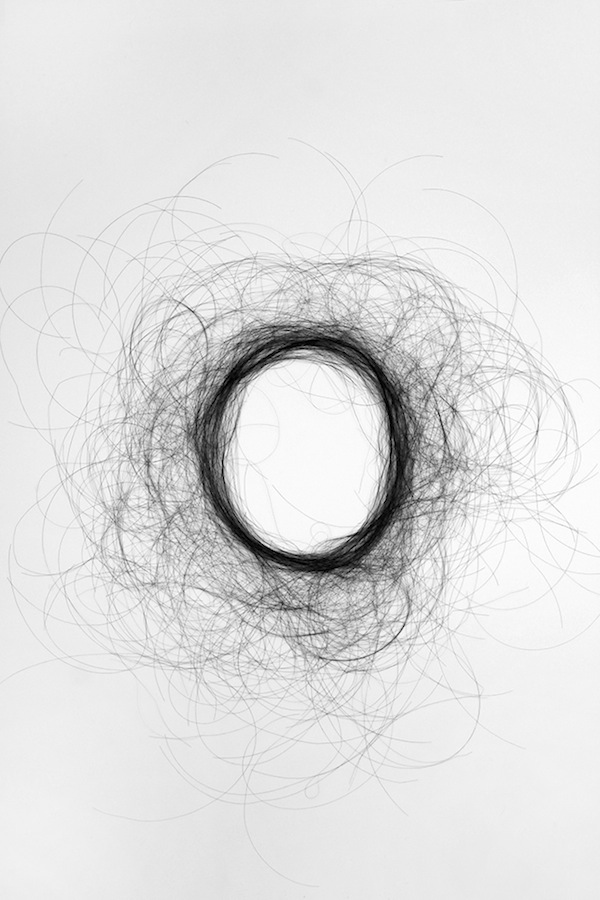 Human Hair Typography Monique Goossens 6