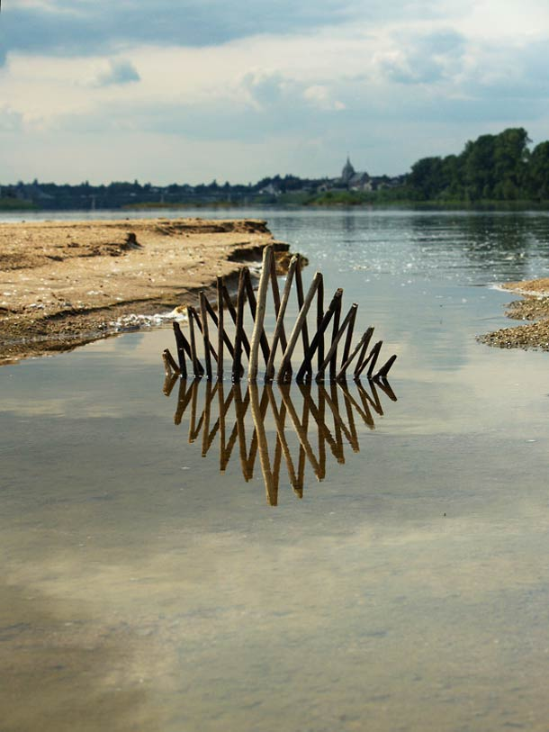Ludovic Fesson WILD IDEA land art 7