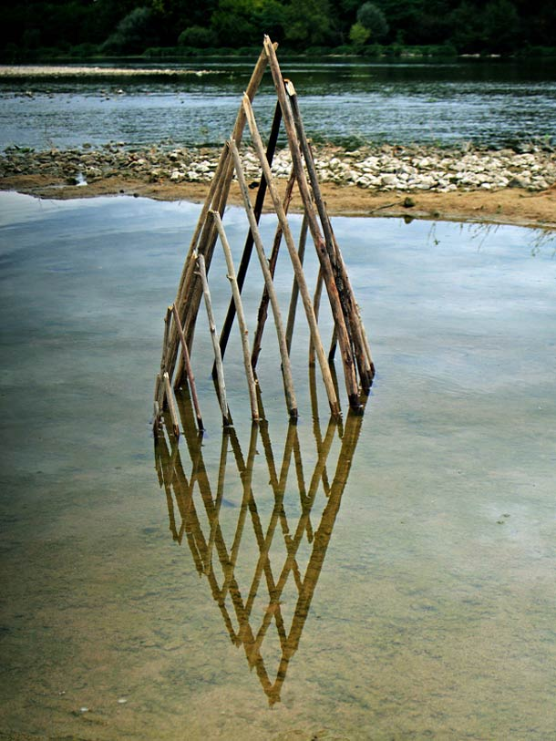 Ludovic Fesson WILD IDEA land art 8