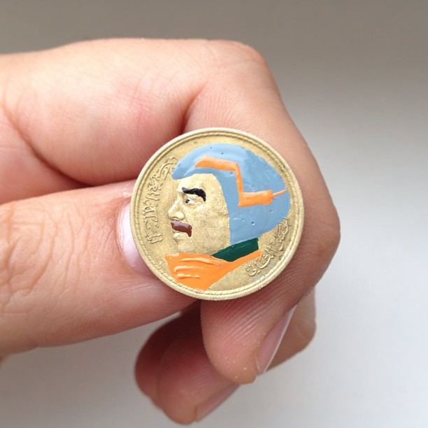 Tale you Lose pop culture characters painted on coins Andre Levy 19