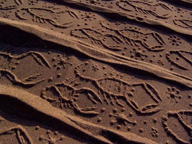 Ahmad Nadalian Sand Print 11
