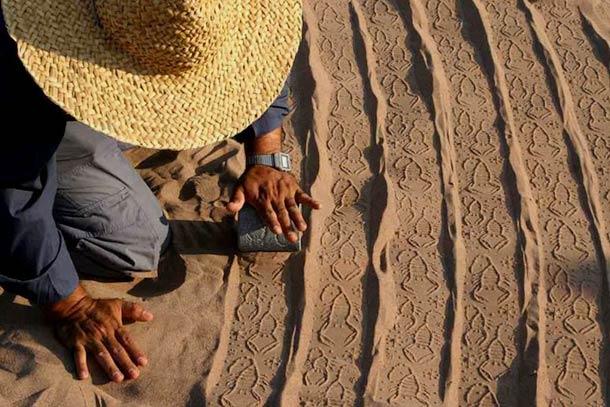 Ahmad Nadalian Sand Print 17
