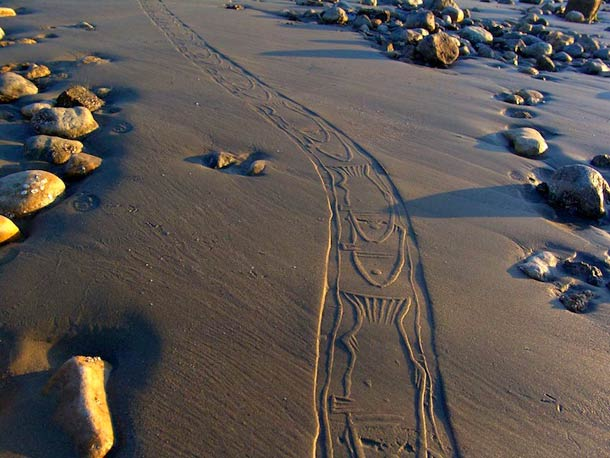 Ahmad Nadalian Sand Print 3