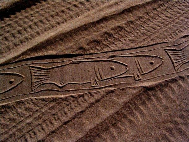 Ahmad Nadalian Sand Print 5