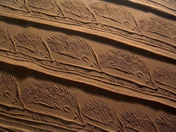 Ahmad Nadalian Sand Print 9