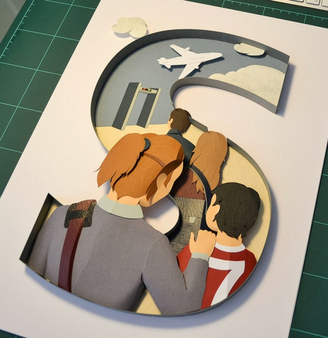 Cut Paper Illustration  Stephanie Wiehle