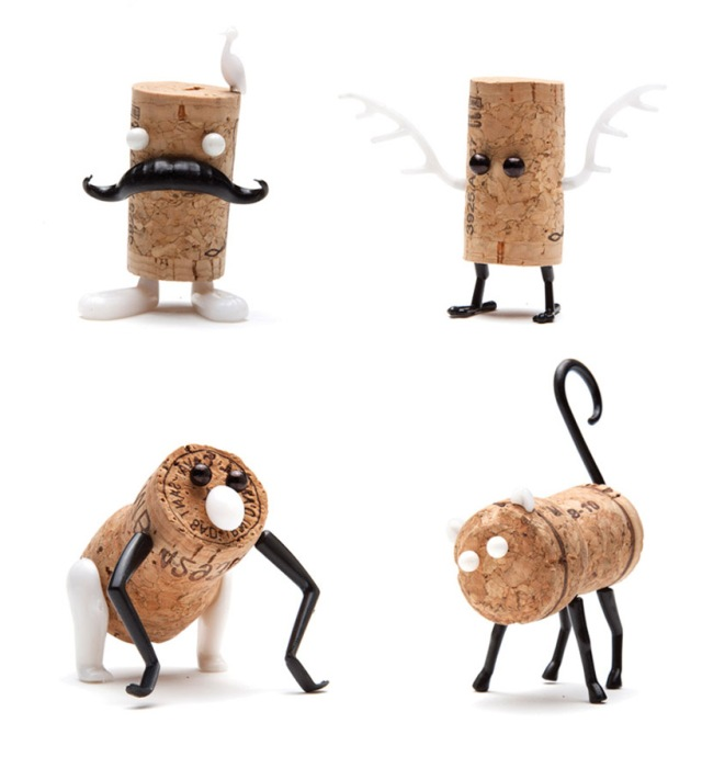 DIY cork stopper animals reddish studio  oded friedland 10