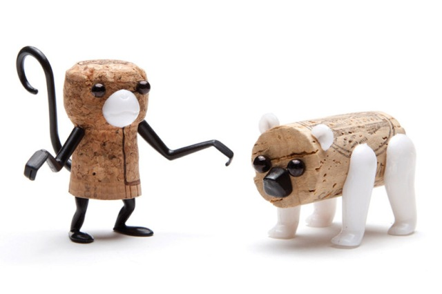 DIY cork stopper animals reddish studio  oded friedland 2