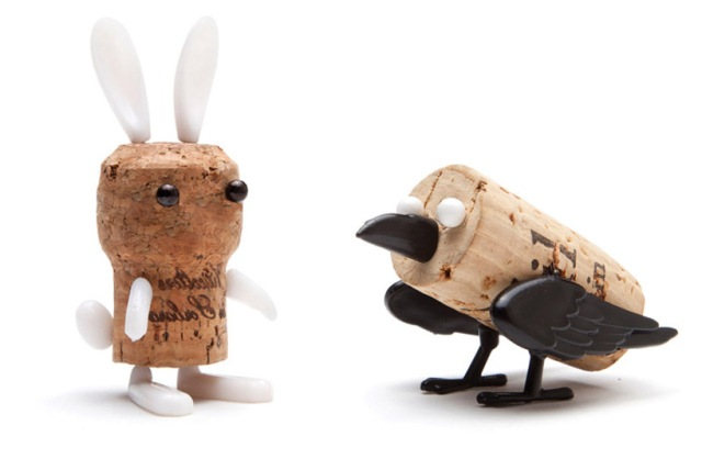 DIY cork stopper animals reddish studio  oded friedland 3