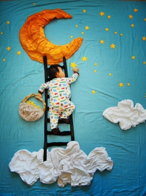 dream adventures of a sleeping child Queenie Liao 0