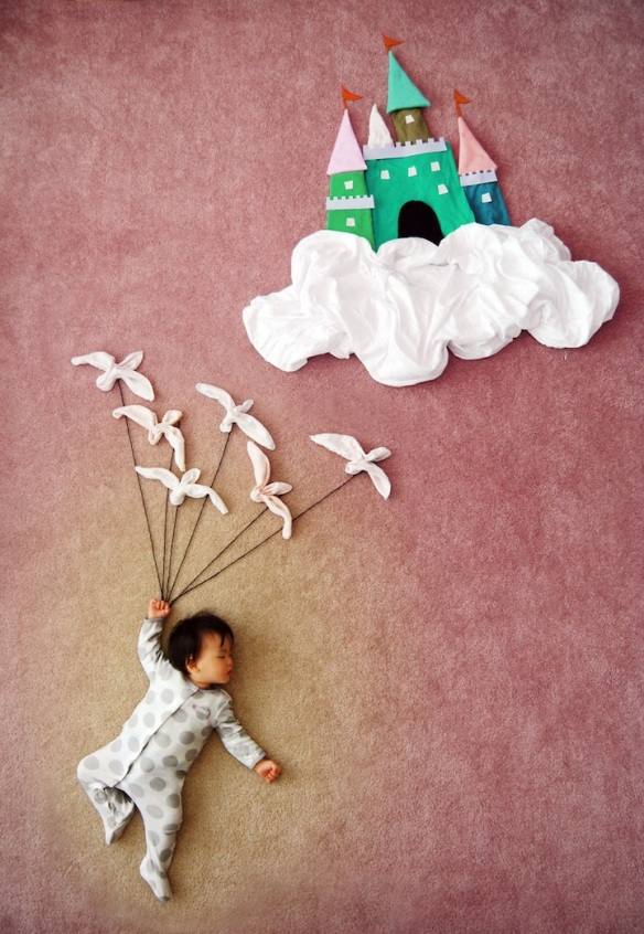dream adventures of a sleeping child Queenie Liao 7