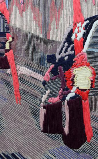 Embroidered city Pauline MM Nijenhuis 6