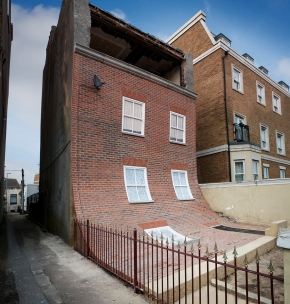 from the knees of my nose to the belly of my toes alex chinneck 2