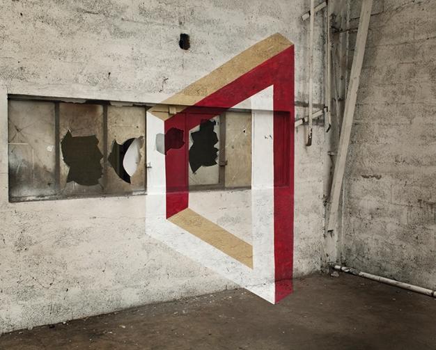 geometrie de l'impossible anamorphic illusion  fanette guilloud