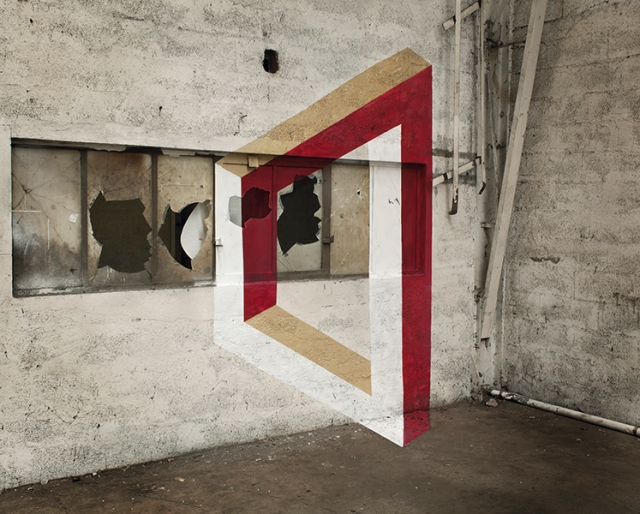 geometrie de l'impossible anamorphic illusion  fanette guilloud