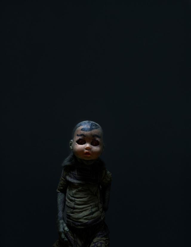 haunting monkeys with doll heads Pertu Saksa 2