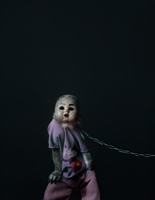 haunting monkeys with doll heads Pertu Saksa 6