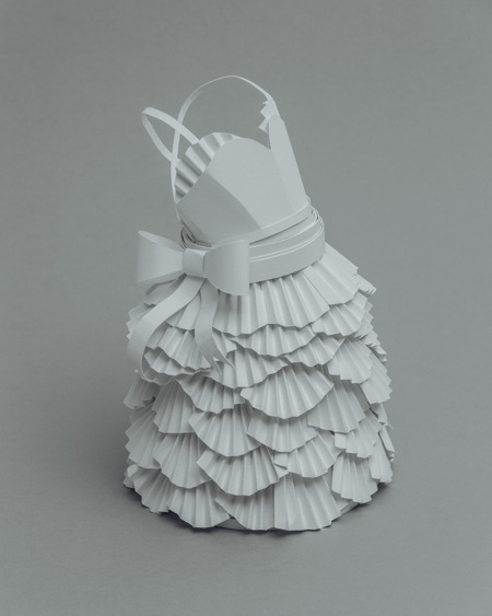 paper sculptures Mandy Smith brain 7