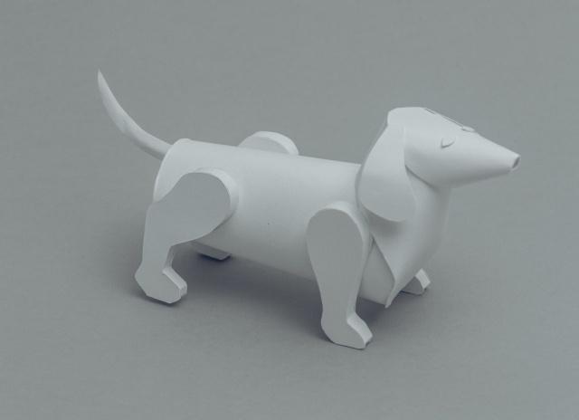 paper sculptures Mandy Smith