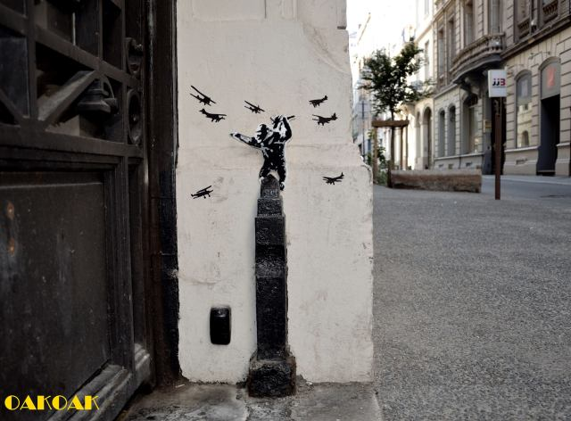 street art illusions OAKOAK 4