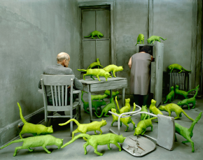 surreal worlds Sandy Skoglund 1