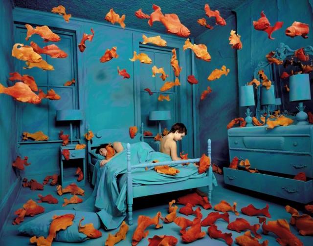 surreal worlds Sandy Skoglund 3