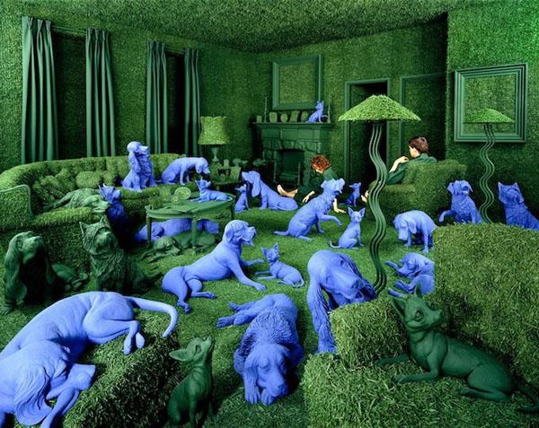 surreal worlds Sandy Skoglund 8