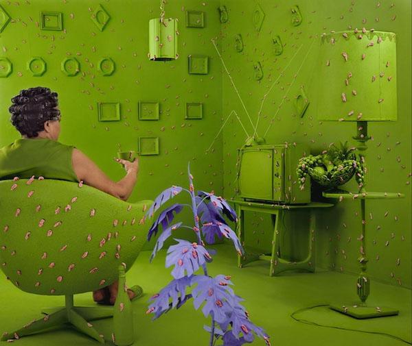 surreal worlds Sandy Skoglund 9