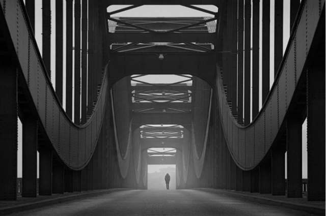 Taking Some Alone Time in the Stunning Symmetrical City Kai Ziehl 7