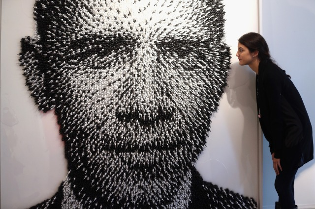 Artist Joe Black Large Scale Murals Of World Leaders Past And Present