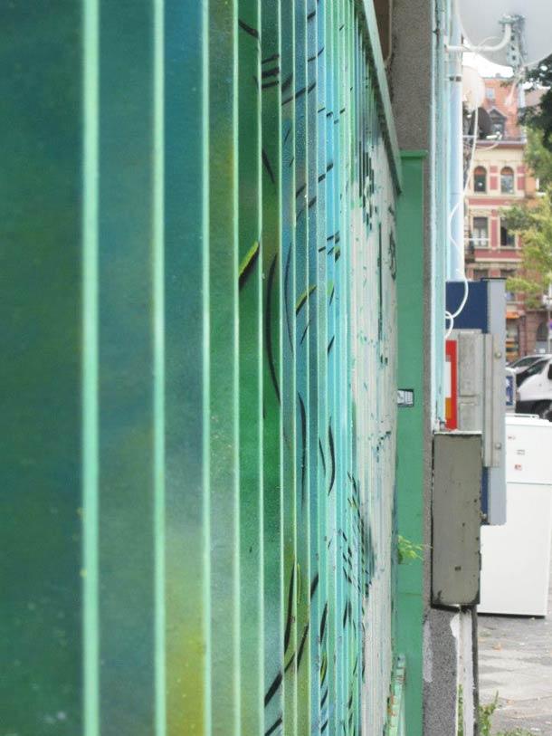 zebrating street art Anamorphic 10