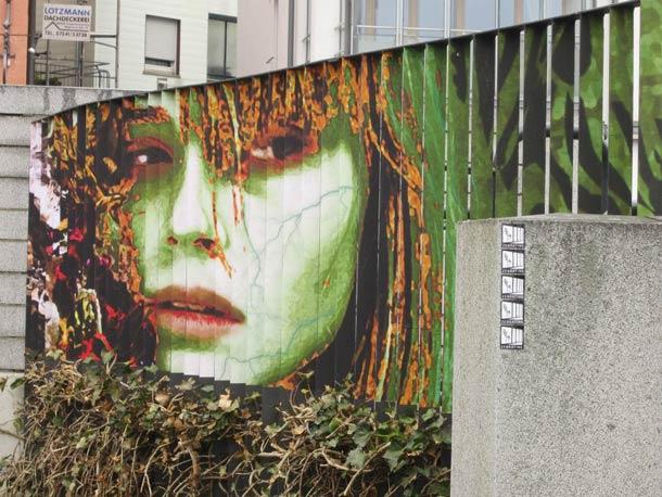 zebrating street art Anamorphic 8