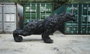ji yong ho mutant mythos tire sculptures 2